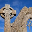 Celtic Stone cross — Stock Photo #12380733