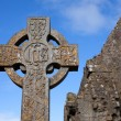 Celtic Stone cross — Stock Photo #12380778
