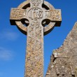 Celtic Stone cross — Stock Photo