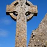 Celtic Stone cross — Stock Photo