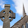 Celtic Stone cross — Stock Photo #12380951