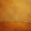 Royalty-Free Stock Photo: Brown leather texture