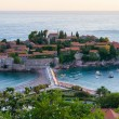 Sveti Stefan resort in Montenegro - Stock Photo