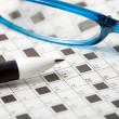 Crossword — Stock fotografie