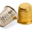 Stock Photo: Pair thimble