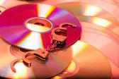 Computer disc — Stock Photo