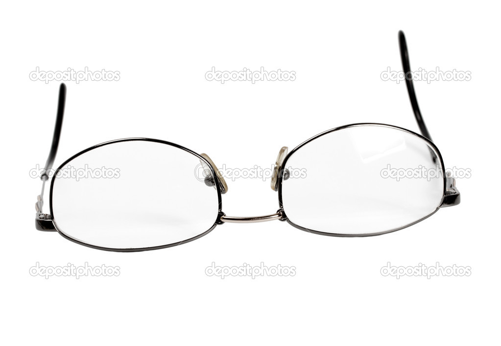 Spectacles isolated on white background — Zdjęcie stockowe #10970390