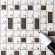 Crossword — Foto Stock #11064631