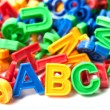 Foto de Stock  : Colorful ABC
