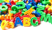 Colorful ABC — Stock Photo
