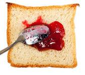 хлеб с вареньем — Стоковое фото