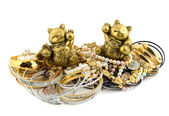 Cats talismans — Stock Photo