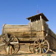 Stock Photo: Old western wagon