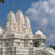 The BAPS Swaminarayan Sanstha Shri Swaminarayan Mandir, Atlanta - Stock Photo