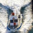 Stock Photo: Alaska. Speedboat