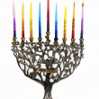 Second day of Chanukah. XXL — Stock Photo