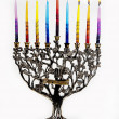 Third day of Chanukah. XXL — Stock Photo