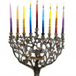 Fifth day of Chanukah. XXL — Stock Photo