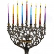 Stock Photo: Sixth day of Chanukah. XXL