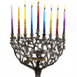 Sixth day of Chanukah. XXL — Stock Photo