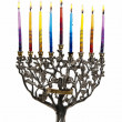 Eighth day of Chanukah. XXL — Stock Photo