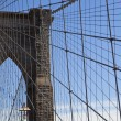 The Brooklyn Bridge - Stock Photo