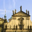 Prague's church steeples — Stock Photo #11299646