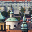 Prague's church steeples — Stock Photo #11299674