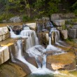 Stock Photo: Finger lakes region waterfall in summer