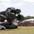 Stock Photo: Monster Truck at Car Show