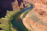 Colorado river. Horse shoe bend — Stock Photo