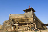 Old western wagon — Stock Photo