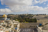 Prayer of Jews at Western Wall. Jerusalem Israel — Stock Photo