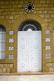 Door to Bahai Temple — Stock Photo