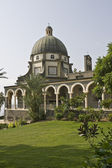 Mount of beatitudes church, sea of galilee, Israel — Foto Stock