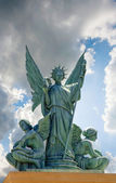 Angels monument — Stock Photo