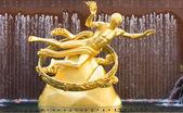 Rockefeller Center Prometheus Statue Manhattan New York — Stock Photo