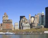 Manhattan. New York City skyline — Stock Photo