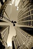 New York City - Downtown Manhattan. — Stock Photo