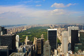 Ponaramic vista de manhattan. — Foto de Stock