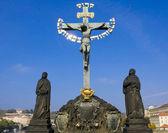 Crucifix. Prague, Czech Pepublic — Photo