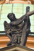 Standbeeld in Praag — Stockfoto