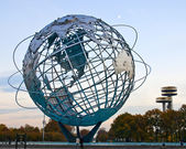 Globe Sculpture In Corona Park of Queens — Stock Photo