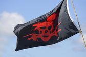 Pirat's flag — Stock Photo
