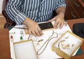 jeweler — Stock Photo