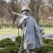 korean war memorial washington dc — Stock Photo