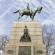 William Tecumseh Sherman Monument at Sherman Park, Washington, D — Stock Photo