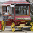 Stock Photo: Popcorn wagon