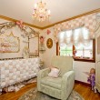 Stock Photo: Interior of nursery.