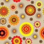 Art vintage floral seamless pattern background — Stock Photo #10769957
